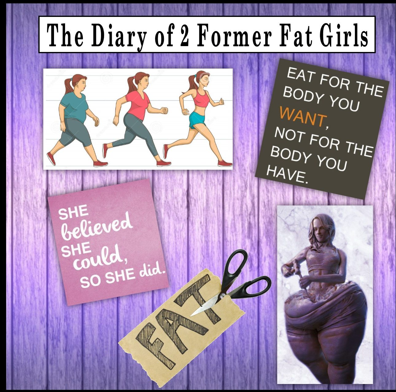 The Diary of 2 Former Fat Girls