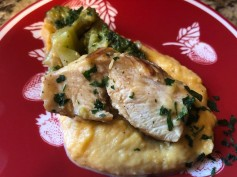 CREAMY CHICKEN WITH BUTTENUT SQUASH MASH 2
